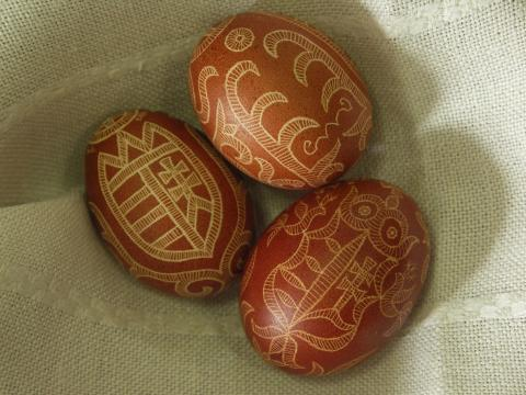 Hímestojás, késsel írott tojás, kapart tojás, karcolt tojás, pásztorművészet, húsvéti tojás